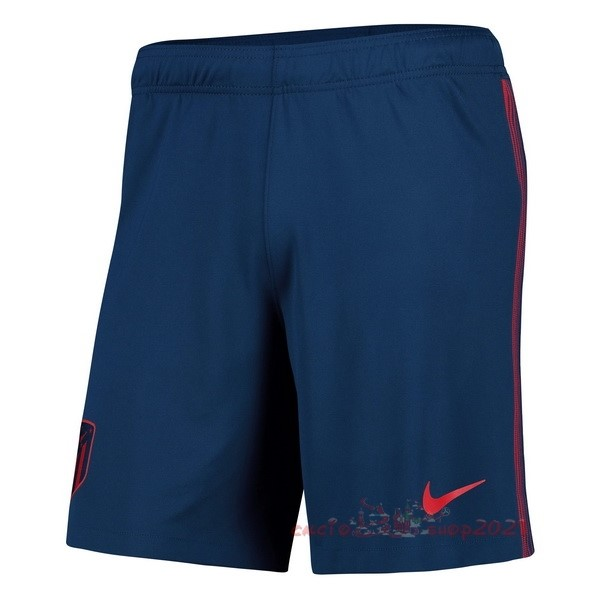 Away Pantaloni Atlético Madrid 2020 2021 Blu Maglie Originali Calcio