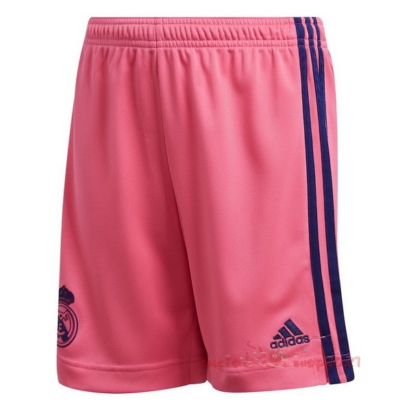 Away Pantaloni Real Madrid 2020 2021 Rosa Maglie Originali Calcio